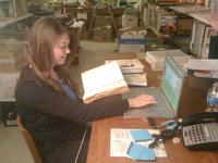 SoFAB library Megan Reid cataloging.jpg