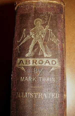Illustrated First Edition of Mark Twain Abroad.JPG
