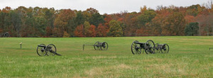 Thumbnail image for Manassas National Battlefield cannons fall color fence crop adj.jpg