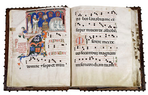 Biennale Firenze Grand Choir Book with 5 miniatures
