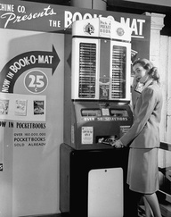 Book Vending Machines The Fine Books Blog - Monkey knows how to operate vending machine