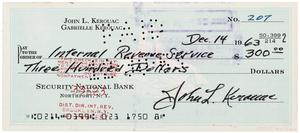 How to write check to irs