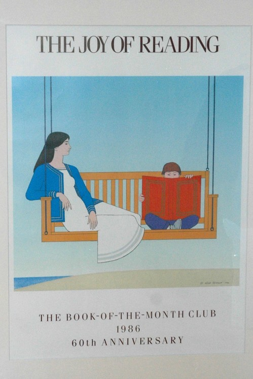 The Joy Of Reading By Will Barnet Photo B Richter