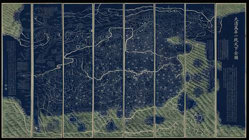 Lot 212, Qianren Huang, The Blu Map.jpg