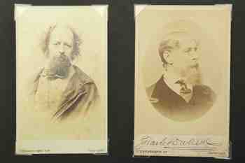 Lot 85. TENNYSON, Alfred Lord (1809-92) Charles DICKENS (1812-70). Collection, Archive (1) copy.jpg