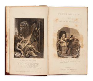 Frankenstein The First One Volume Edition Illustrated And To Carry Shelleys Name A Of Bram Stokers Dracula 1897