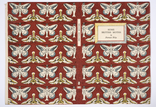 Cover for Some British Moths, King Penguin © Estate of Enid Marx.jpg