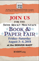 Rocky Mountain Book & Paper Fair Product/Service Photo