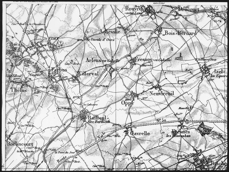 World War I battlefield maps - Fine Books and Collections