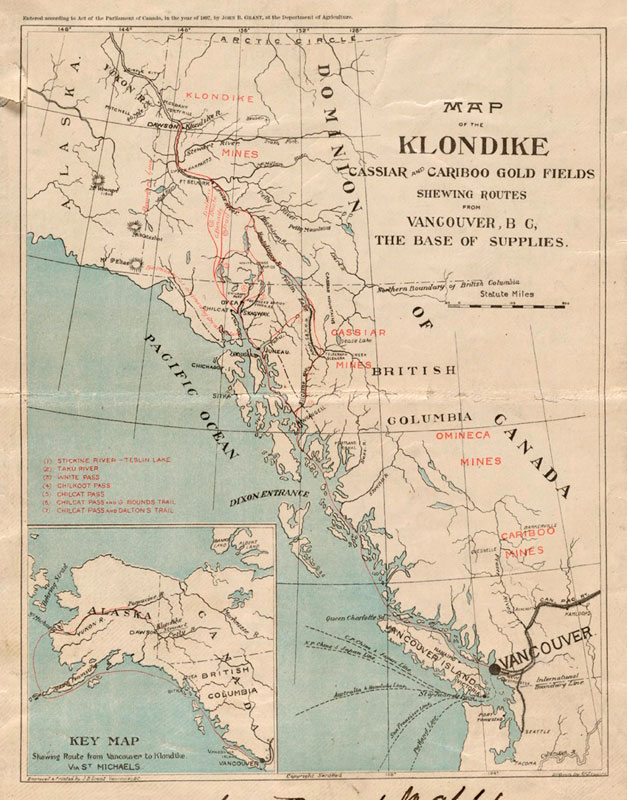 Yukon Gold Maps - Fine Books and Collections
