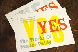 The Words of Master Poldy will be letterpress printed by hand in a selection of antique wooden and metal typefaces.jpg