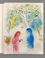 Daphnis et Chloé - bis , Marc Chagall, Collection Wolf - © Artcu.jpeg
