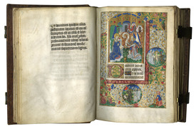 MDNY 2015 Les Enluminures offering FRANCOISE FURTIN HOURS in Latin and Fnrech c1480 11 miniatures by follower of the Master of the Echevinage of Rouen 205x145mm susan@susanpr.jpg