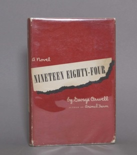 Nineteen Eighty-Four in Red Dust Jacket.jpg