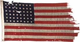 The U.S. Flag that led the D-Day invasion on June 6, 1944, readies for public auction copy.jpg
