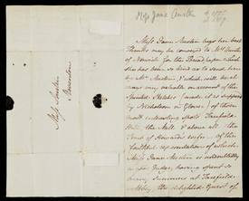 Lot 82 - Jane Austen - autograph letter, written in third person to her niece Anna Lefroy (nee Austen) copy.jpg