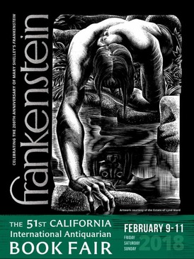 In the news october 2017 archives bibliophiles will celebrate the 200th anniversary of frankenstein at the ca antiquarian book fair voltagebd Choice Image