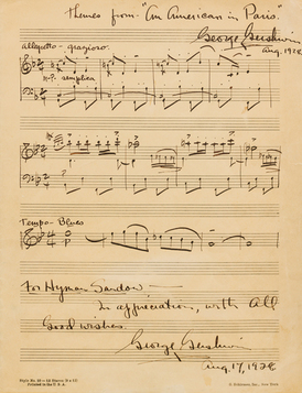 568_260_Gershwin, George, Autopgraphed musical manuscript signed twice, to Hyman Sandow, 17 August 1928_WEB.jpg