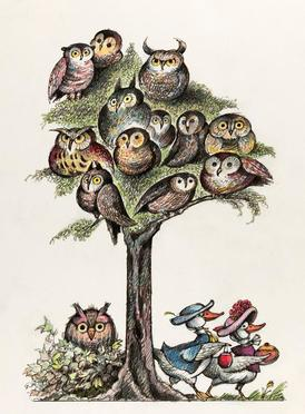 dbd66b771f3 Amherst, Massachusetts—Owls, some of the most widely depicted creatures in  children's literature, swoop into The Eric Carle Museum of Picture Book Art  from ...