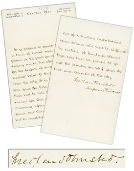 Frederick Law Olmsted Central Park Letter Signed 56429a_lg.jpeg