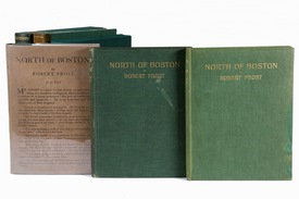 Three early and signed editions of North of Boston by Robert Frost.jpg
