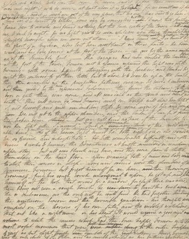 197 SHELLEY (MARY WOLLSTONECRAFT) Autograph draft of the second portion of her story 'The Invisible Girl copy.jpg