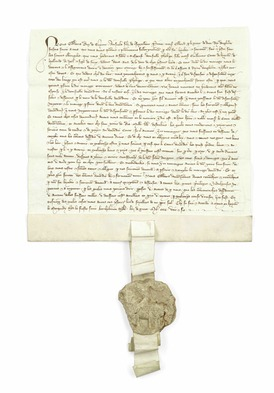 51 EDWARD III AND PHILIPPA OF HAINAULT THE MARRIAGE CONTRACT BETWEEN EDWARD III AND PHILIPPA OF HAINAULT, copy.jpg