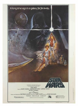 64cddda86 Lot 175. Star Wars 40x30 Style-A Poster copy.jpg